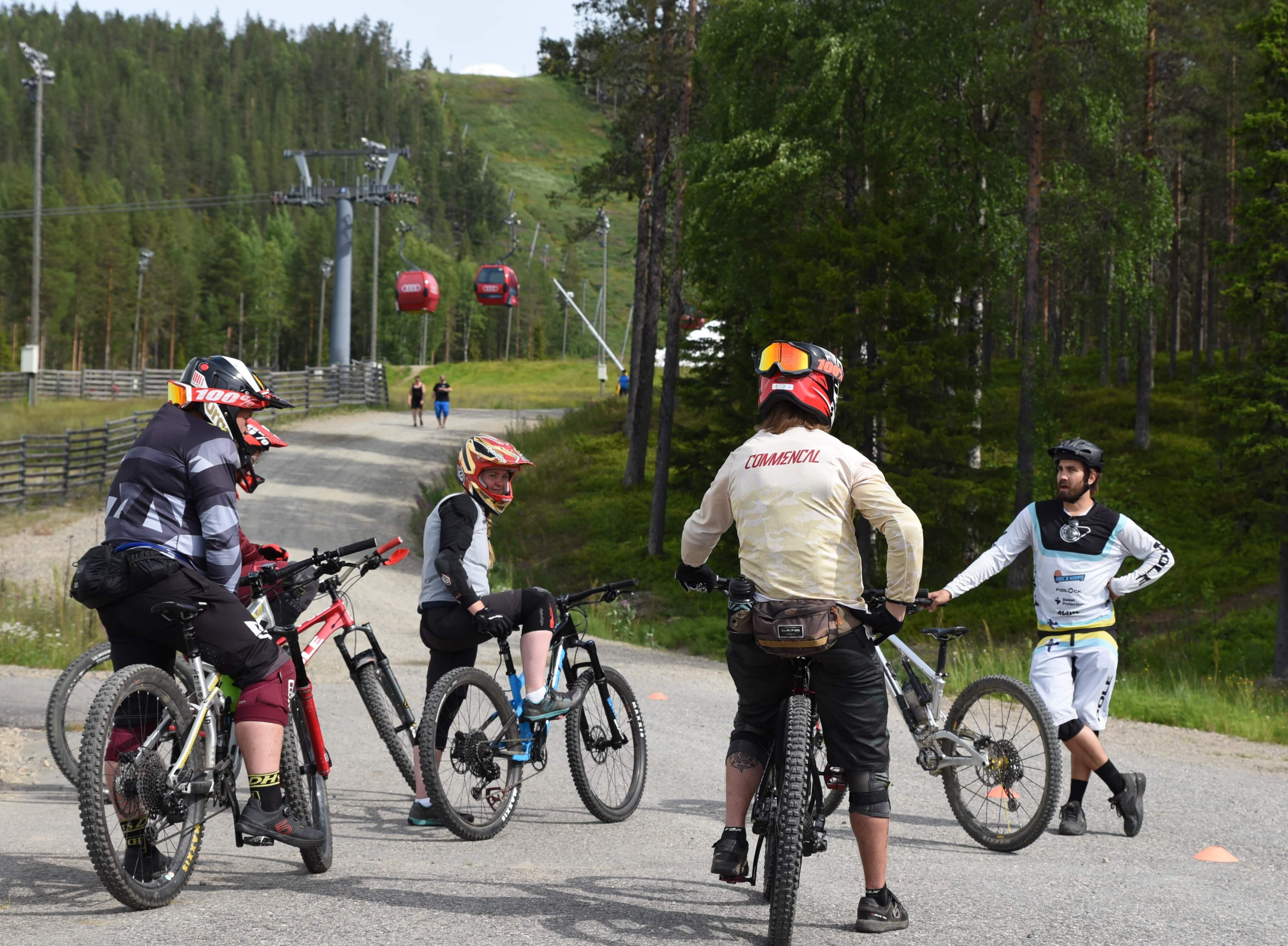 Levi Bike Park ENDUROREITTI CITY TRAIL