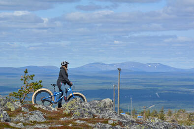 LeviSkiResort-Summer-fatbiking©ArcticAngle