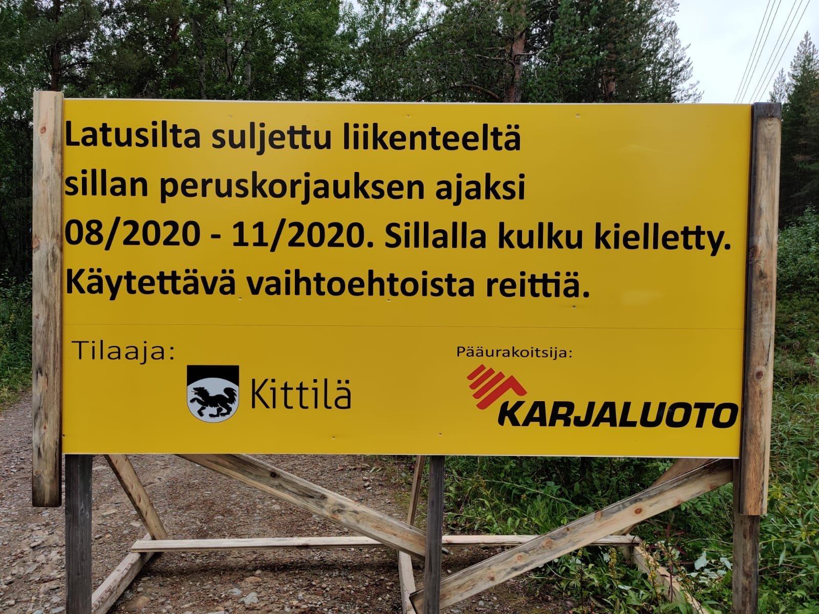 latusillan korjaus