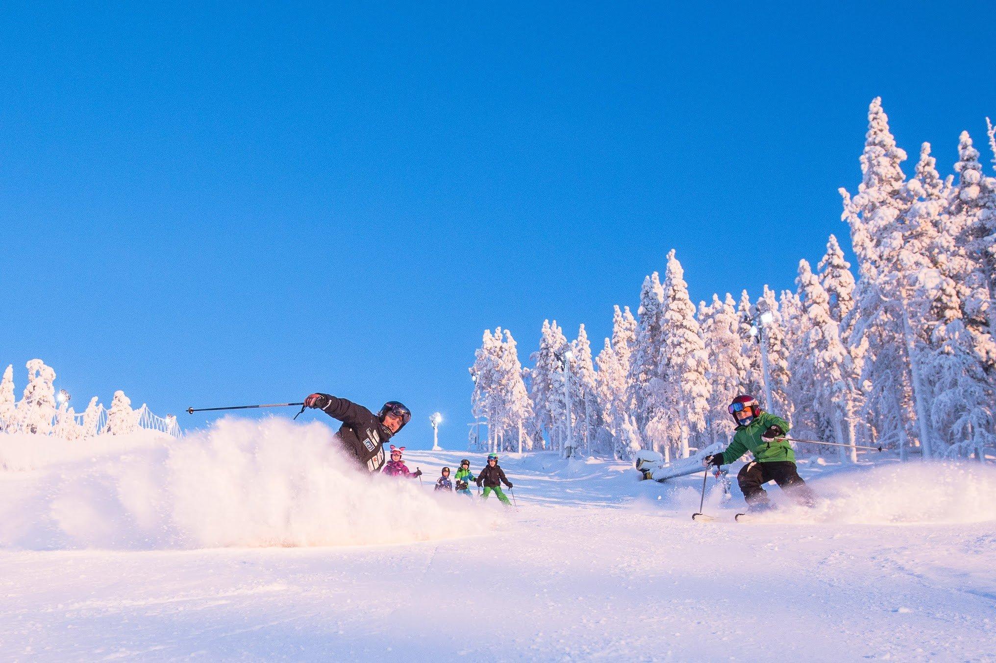 Levi season passes for alpine ski racers