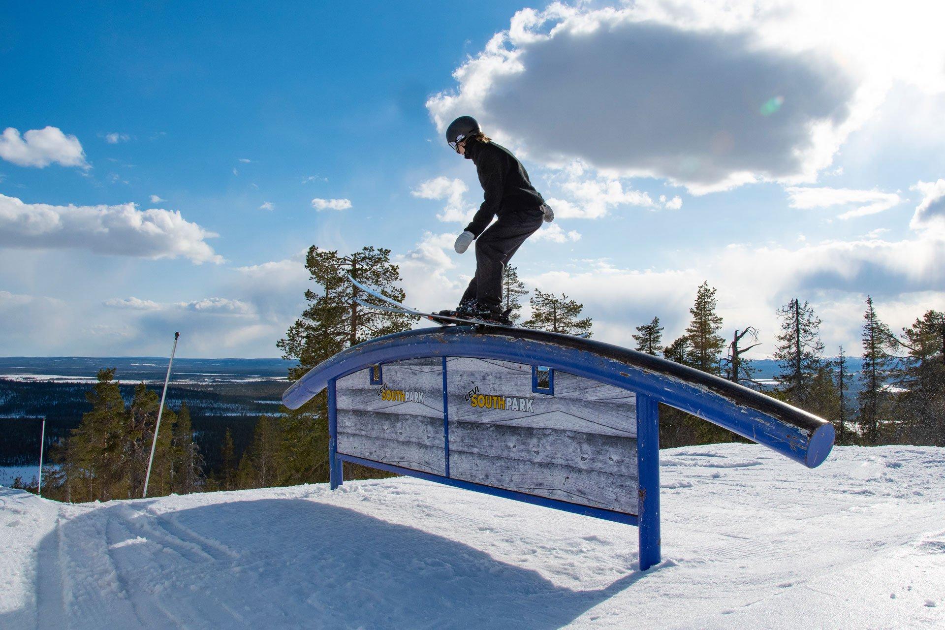 Levi Snow Parkit