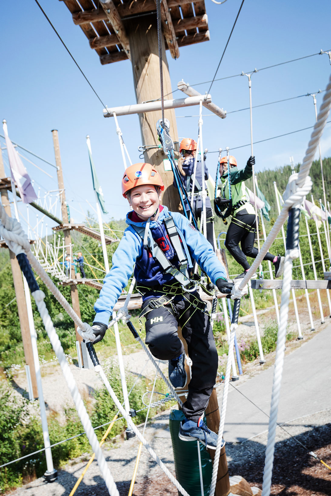 Levi-Summer-Resort-lasten-seikkailulippu