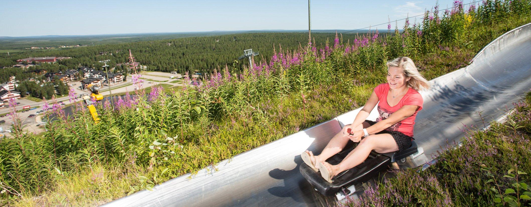 Levi_summer_sledding