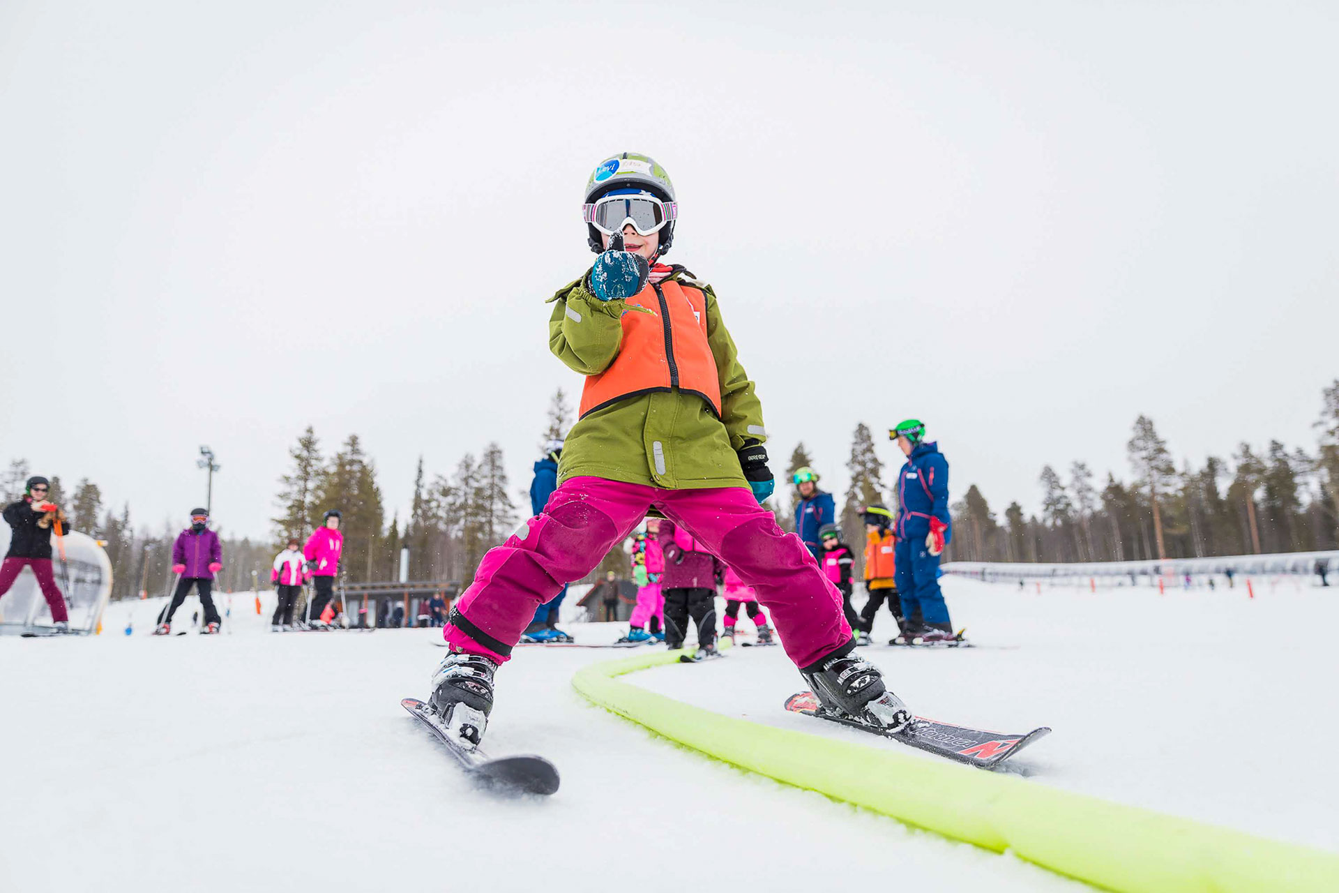 3- and 5-days ski school courses