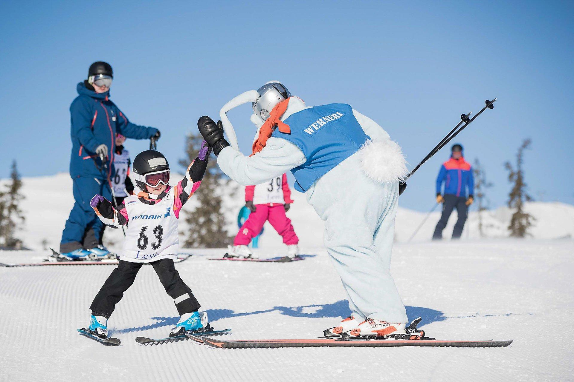 lasten hiihtokoulu