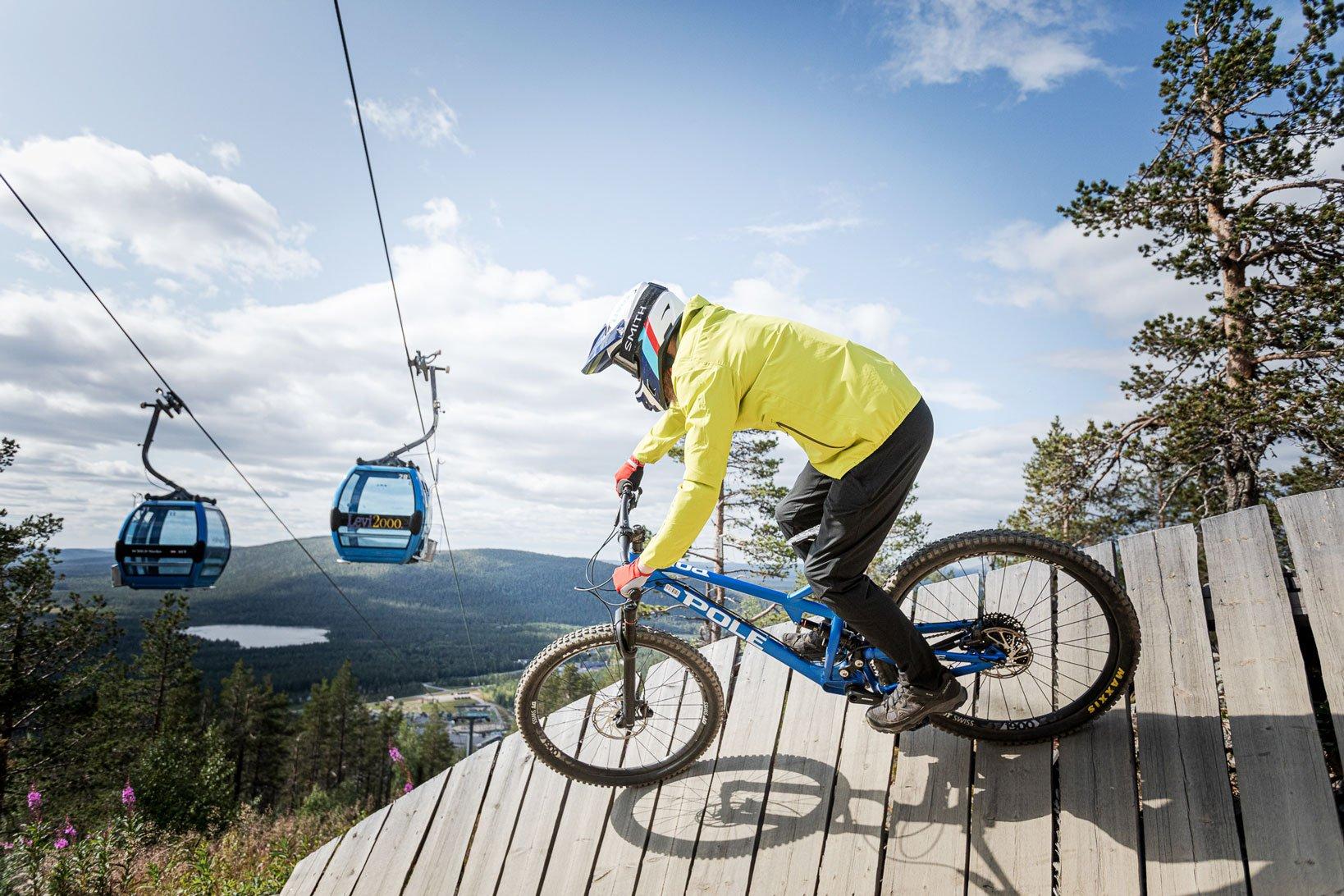 LeviSummerResort-BikePark-näköalahissit